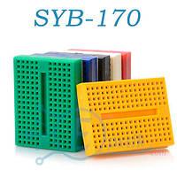 Плата макетная SYB-170 Bread board, беспаечная 170 точек
