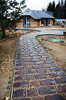 """Дорожный камень """"Средневековый""""-охра"""
