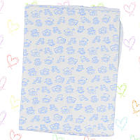 Пеленки для новорожденных  90x100см. -хб/интерлок. 3107gerda+kay 1 шт. нейтральных расцветок