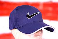 Кепка, бейсболка мужская, летняя, весенняя. Синий Nike