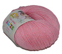 Alize Baby wool 194 розовый.