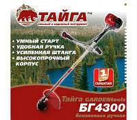 Бензокоса Тайга БГ-4300 (Расширенная комплектация)