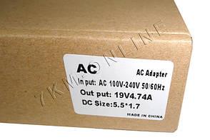 Блок питания адаптер для ноутбука Acer 19v 4.74a 5.5*1.7, фото 2