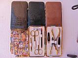 Маникюрный набор Niegelon gold маникюрно педикюрный( 8 предметов), фото 2