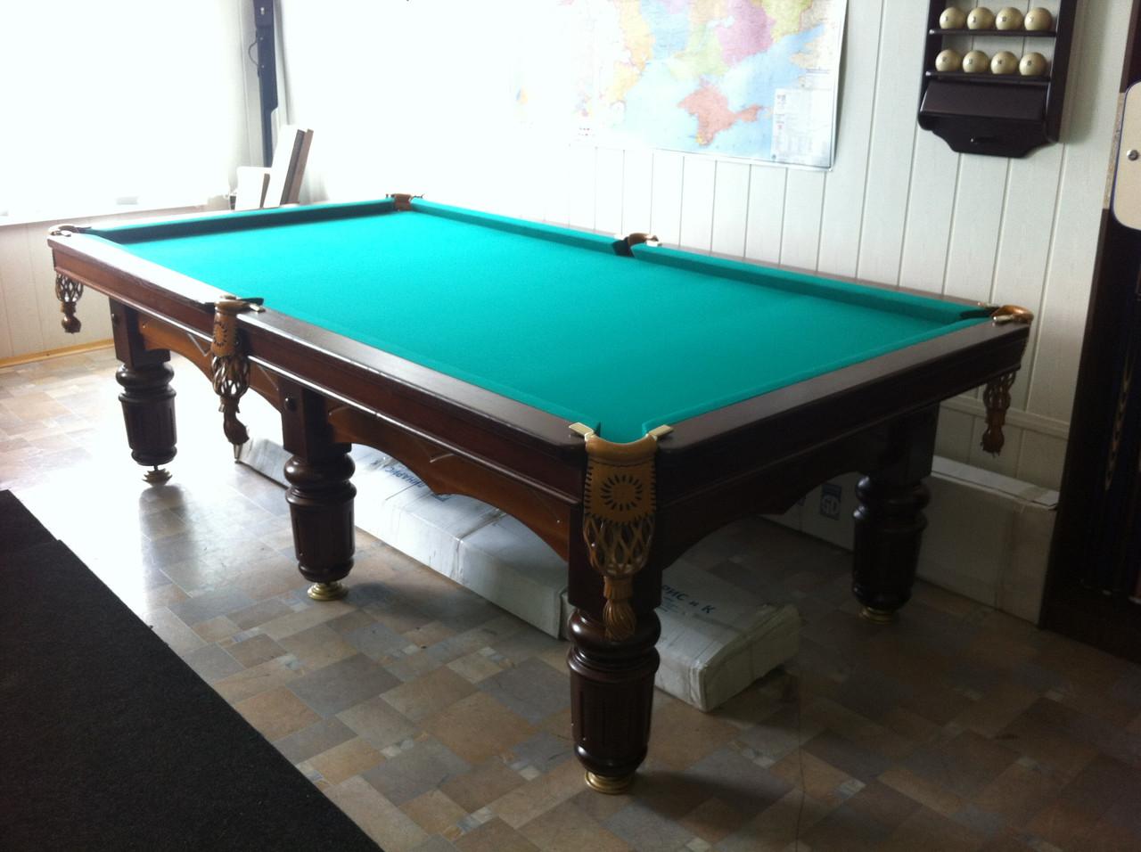 """Більярдний стіл """"Клубний"""" (Ардезія) 10 футів"""