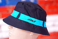 Панама мужская, летняя, весенняя. Т-синий Nike