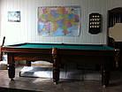 """Більярдний стіл """"Клубний"""" (Ардезія) 10 футів, фото 2"""