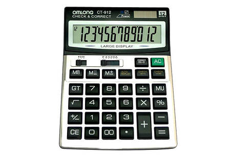Калькулятор CT-912, фото 2