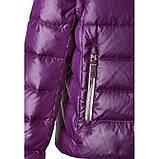 Зимняя пуховая куртка - жилетка для девочек Reima 531224-4900. Размеры 104 - 152., фото 3