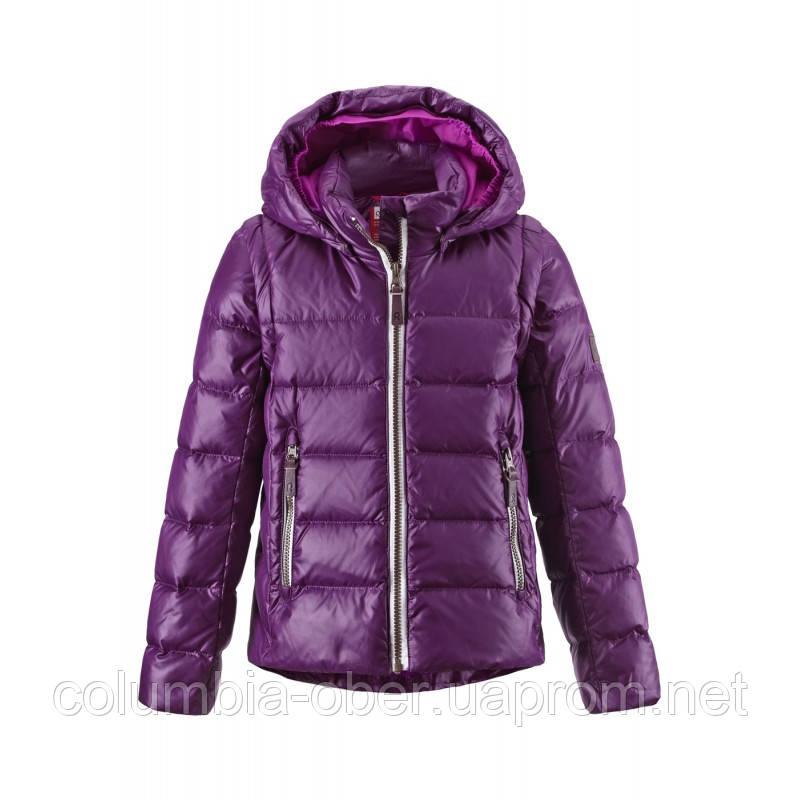 Зимняя пуховая куртка - жилетка для девочек Reima 531224-4900. Размеры 104 - 152.