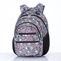 Рюкзак школьный Dolly 505 ортопедический на два отдела с рисунком для девочки разные цвета 30 см *40 см*22 см