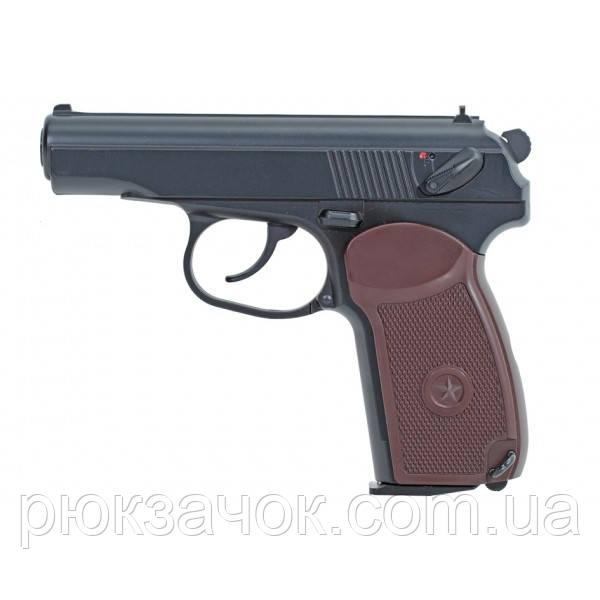 Пневматический газобалонный пистолет Макарова ПМ KWC PM-44