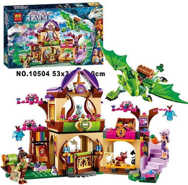 """*Конструктор Bela Fairy (аналог Lego Elves) """"Секретный рынок"""" арт. 10504 - Tornado в Киеве"""