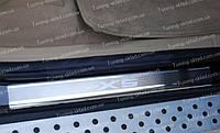 Накладки на пороги BMW X5 E70 (накладки порогов БМВ Х5 Е70)
