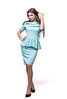 Платье Л-6 Голубой, фото 1