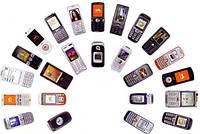 Телевизоры, мобильные телефоны