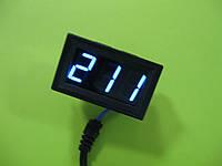 Цифровой панельный вольтметр переменного тока 75~300V, синяя индикация