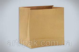 Пакет паперовий з плоским дном без ручок 380*320*150