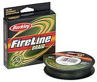 Шнур Berkley Fireline Radial Braid 110м/ 0.23 (зеленый)