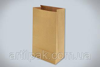 Крафт пакет коричневий 240*120*85 50г/м