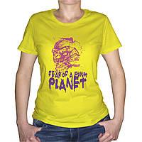 "Женская футболка ""Fear"""