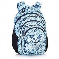 Рюкзак школьный Dolly 506 ортопедический на два отдела для девочки 30 см *40 см*26 см с рисунком