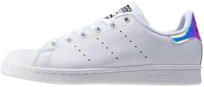 Женские кроссовки Adidas Stan Smith J 'Iridescent' White