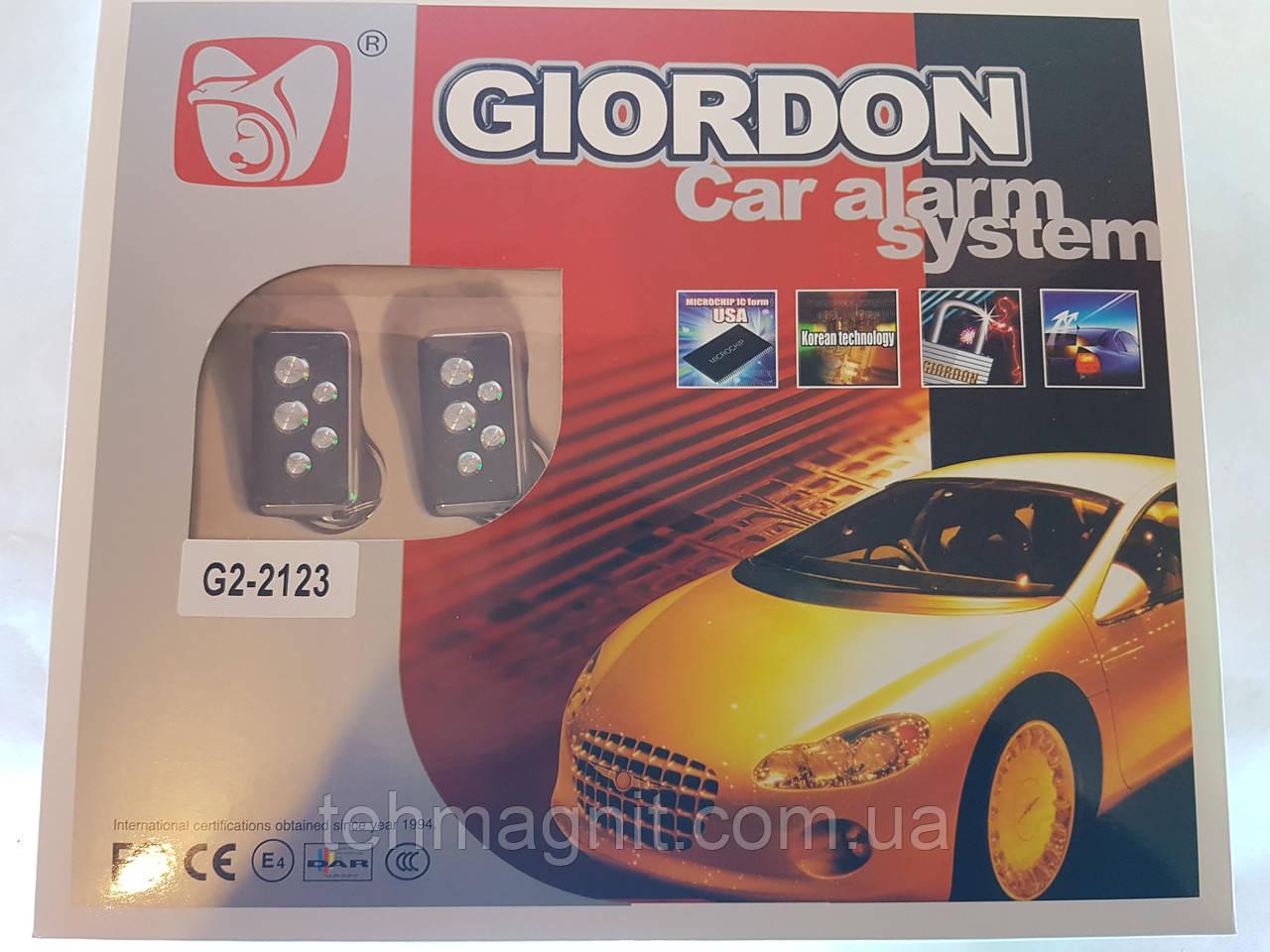 Автомобільна сигналізація G2-2123