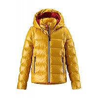 Зимняя пуховая куртка - жилетка для девочек Reima 531224-2320. Размеры 104 - 164.