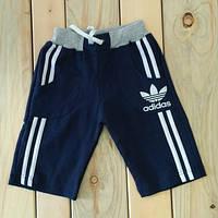 Шорты Adidas Турция на мальчика темно синие на 5, 6, 7, 8 лет