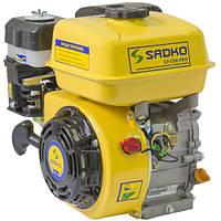 Двигатель бензиновый Sadko GE-200 PRO (шлицевый вал)