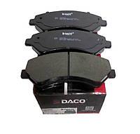 Тормозные колодки передние FIAT DUCATO, CITROEN JUMPER, PEUGEOT BOXER (2000kg)