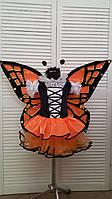Карнавальный костюм Бабочка оранжевая - ПРОКАТ Одесса, фото 1