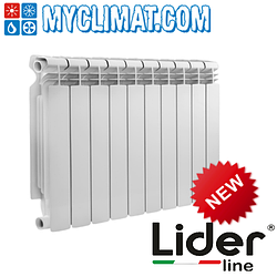 Биметаллические радиаторы Lider Line Benevento 500/95
