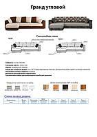 Презентация-Схема заказа дивана Гранд угловой