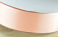 Репсовая лента 4см 91м персик ЛР40-07