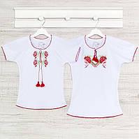 Блузка для девочек 2-5лет, Хлопок -интерлок.07035инб. Выбрать 98,104,110,116 Рост
