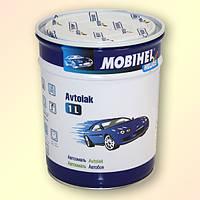 Автомобильная краска (автоэмаль) алкидная Mobihel (Мобихел) 000 Черная матовая 1 л