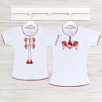 Блузка для девочек 2-5лет, Хлопок -интерлок.07035инб. Выбрать 98,104,110,116 Рост 110