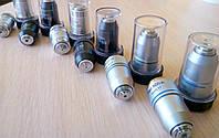 Объективы 4x, 10x, 20x, 40x, 60x, 100x для микроскопов биологических план ахромат