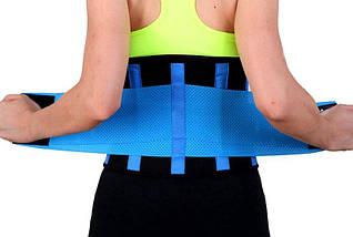 Пояс для похудения Экстрим Пауэр Белт Hot Belt Power умная ткань подчеркивает фигуру, фото 3