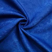 Шторы синие софт электрик, фото 1