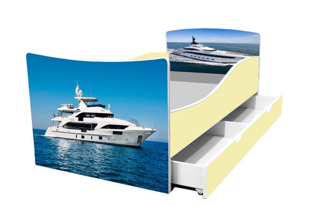 Кровать яхта