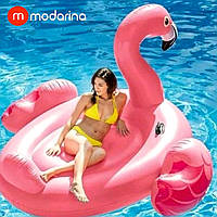 Modarina Надувний матрац Mega Flamingo 220 см, фото 1