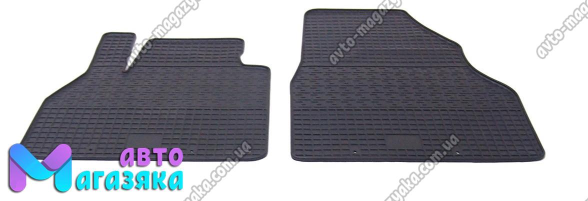 Коврики резиновые для Renault Kangoo 2008- Передние (POLYTEP CLASSIC)