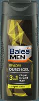 Мужской гель для душа с экстрактом имбиря  Balea Men 3 in1 Ready 300 мл