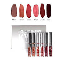 Kylie Holiday Edition Mini Kit Holiday Edition - 6 штук