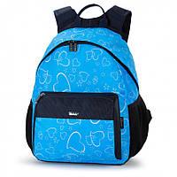 Рюкзак школьный Dolly 595 ортопедический на одно отделение для девочки 30 см * 38см* 22см с рисунком , фото 1