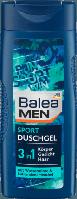 Мужской гель для душа Спорт Balea Men 3 in 1 Sport 300 мл.