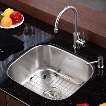 Кухонный смеситель Kraus KPF-2160, фото 2